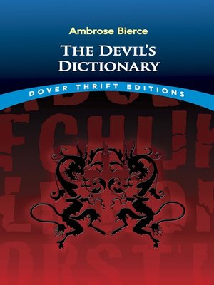 cover image of The Devil's Dictionary