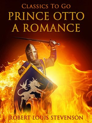 cover image of Prince Otto, a Romance