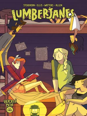cover image of Lumberjanes (2014), Issue 3