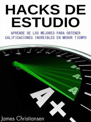 cover image of Hacks de Estudio