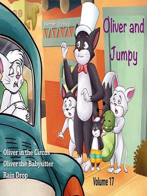 cover image of Oliver and Jumpy, Stories 49-51