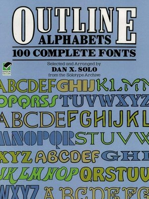 cover image of Outline Alphabets