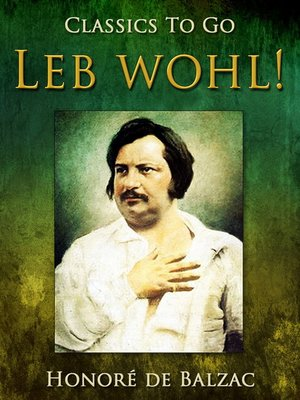 cover image of Leb wohl!
