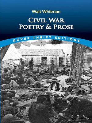 cover image of Civil War Poetry and Prose