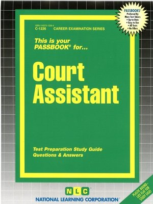 cover image of Court Assistant