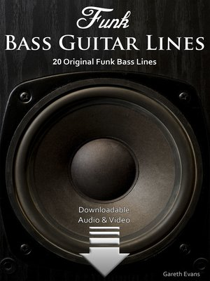 cover image of Funk Bass Guitar Lines