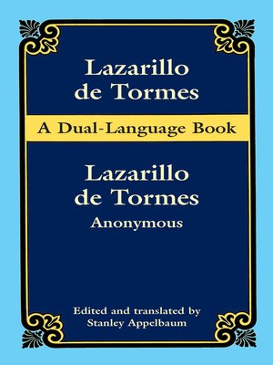cover image of Lazarillo de tormes