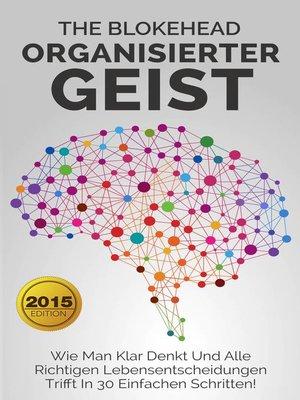 cover image of Organisierter Geist