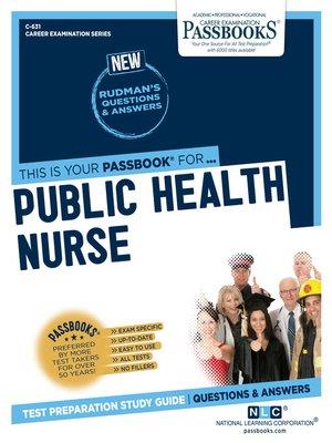 cover image of Public Health Nurse
