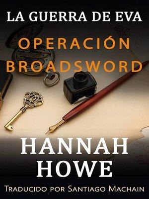cover image of Operación Broadsword