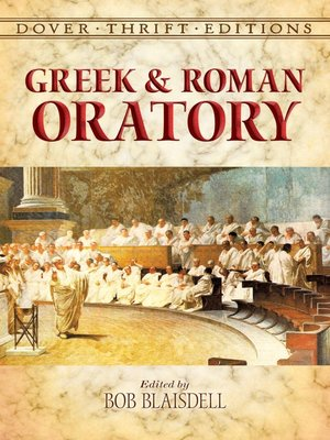 cover image of Greek and Roman Oratory