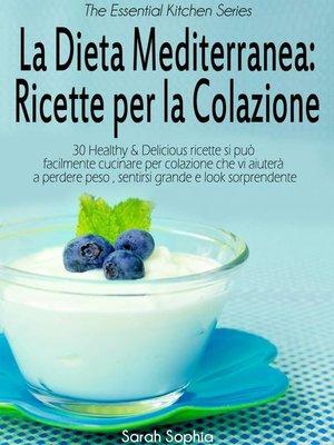 cover image of La Dieta Mediterranea