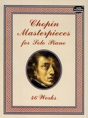 cover image of Chopin Masterpieces for Solo Piano