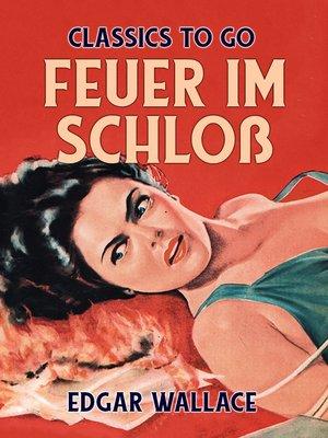 cover image of Feuer im Schloß
