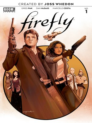 cover image of Firefly, Issue 1