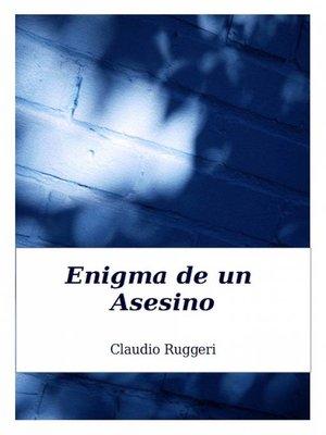 cover image of Enigma de un Asesino
