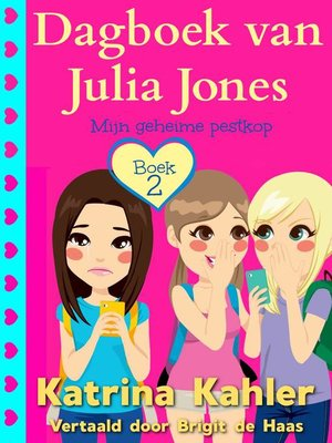 cover image of Dagboek van Julia Jones--Boek 2