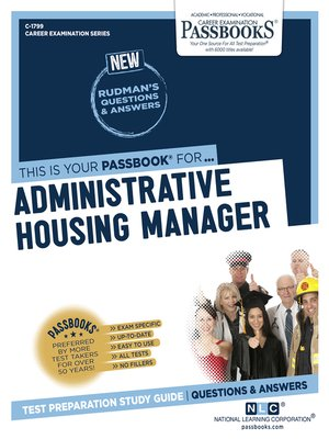 cover image of Administrative Housing Manager