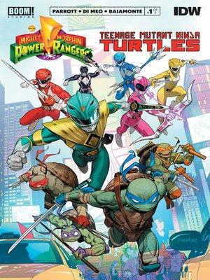 cover image of Mighty Morphin Power Rangers/Teenage Mutant Ninja Turtles (2019), Issue 1
