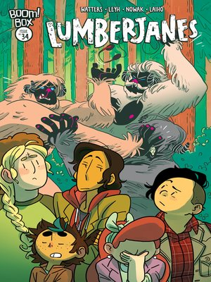 cover image of Lumberjanes, Issue 34