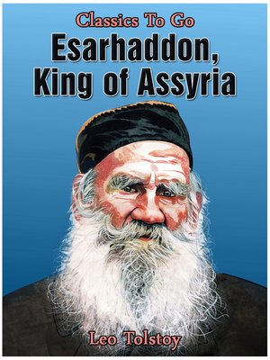 cover image of Esarhaddon, King of Assyria