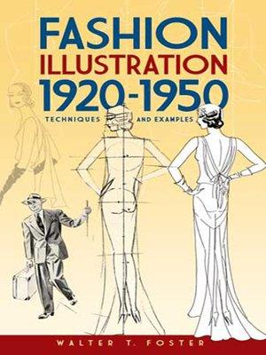 cover image of Fashion Illustration 1920-1950