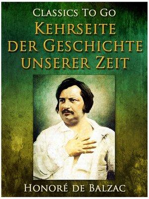 cover image of Kehrseite der Geschichte unserer Zeit