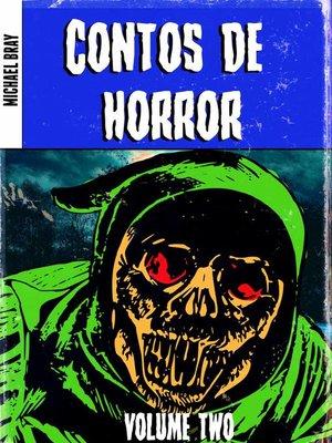 cover image of Contos de horror, Volume 2