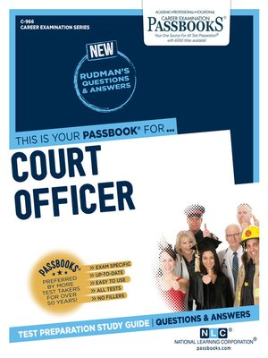 cover image of Court Officer