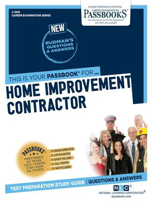cover image of Home Improvement Contractor