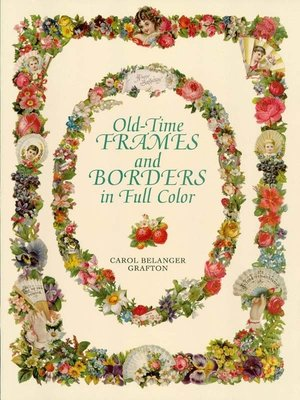 cover image of Old-Time Frames and Borders in Full Color