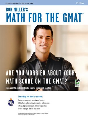 cover image of Bob Miller's Math for the GMAT
