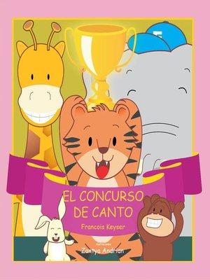 cover image of El concurso de canto