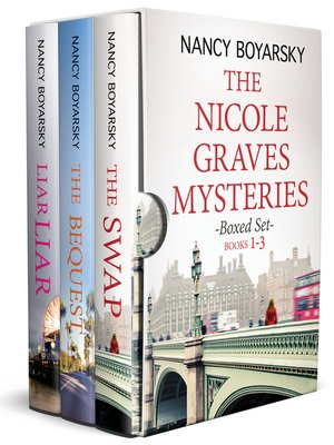 cover image of The Nicole Graves Mysteries Boxed Set