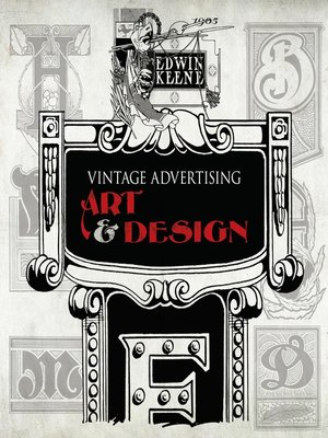 cover image of Vintage Advertising Art and Design
