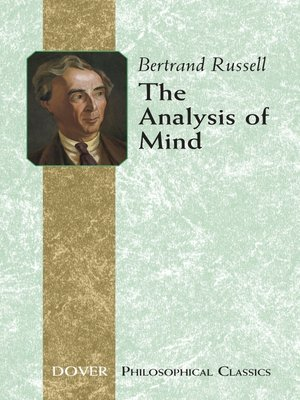 cover image of The Analysis of Mind