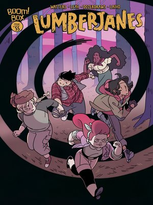 cover image of Lumberjanes, Issue 55