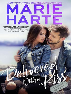 cover image of Delivered with a Kiss