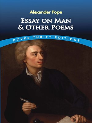 cover image of Essay on Man and Other Poems