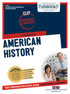 cover image of AMERICAN HISTORY
