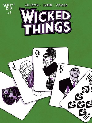 cover image of Wicked Things, Issue 6
