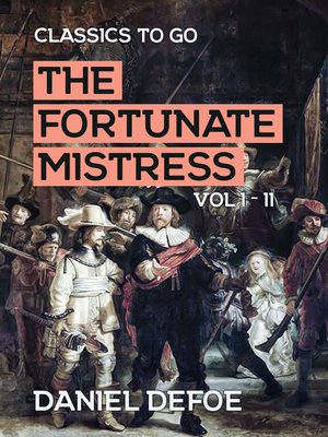 cover image of The Fortunate Mistress, Volume 1-2