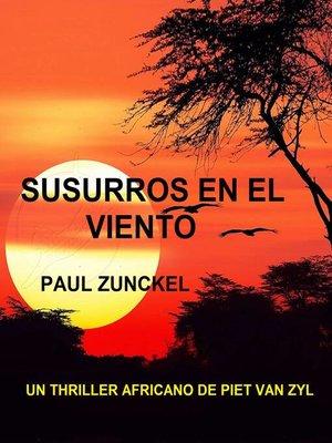 cover image of Susurros En El Viento
