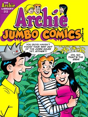 cover image of Archie Double Digest #313