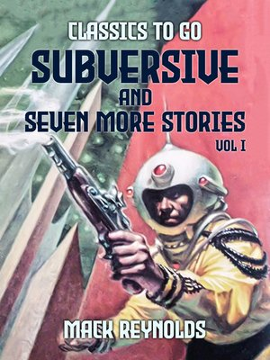 cover image of Subversive and seven more stories Vol I