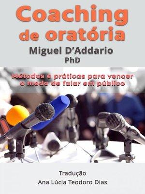 cover image of Coaching de oratória