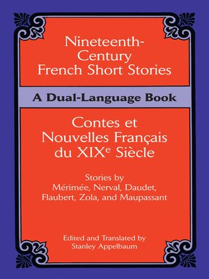 cover image of Nineteenth-Century French Short Stories (Dual-Language)