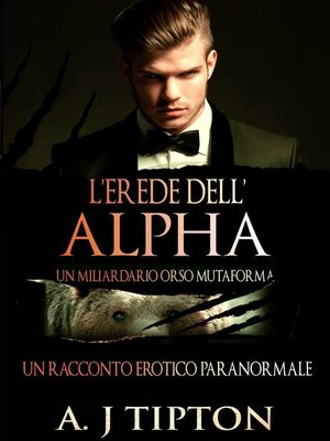 cover image of L'Erede dell'Alpha