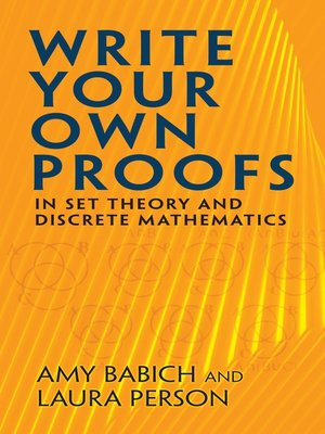 cover image of Write Your Own Proofs