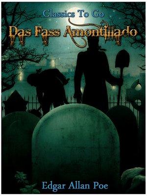 cover image of Das Fass Amontillado